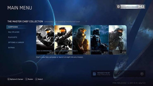 pc steam game/ halo: the master chief collection