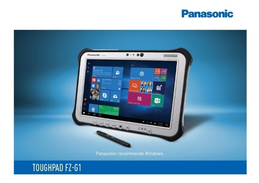Pc Tablet Rugged Panasonic Toughpad Fz