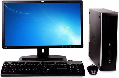 pc torre computadora core 2 4gb + monitor 24 full hd + wifi