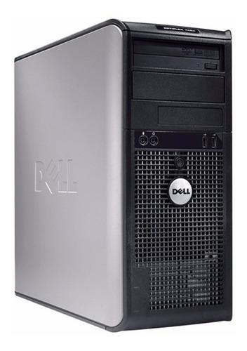 pc torre de computadora 2core 80gb + garantía + envío gratis
