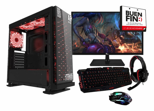 pc ultra gamer core i5 8th gen gtx1060 6gb ddr5 ssd 80+