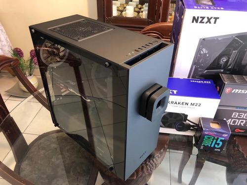 pc ultra gamer nzxt s340 elite i5 8400 gtx 1070 kraken m22