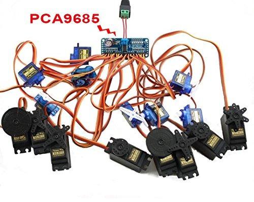 PCA9685 Integrated Circuits Servo Motor Driver Board for
