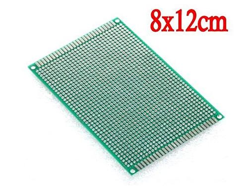 pcb placa experimental doble faz 8x12 electrónica adichip