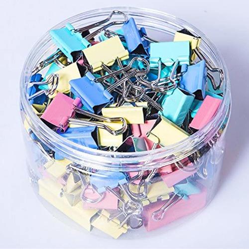 pcs binder clips abrazaderas de papel surtidos  tamaño...