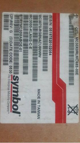 pda recolector de datos symbol motorola mc30x0rlmc48s-00e