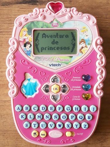 pda vtech princesas disney  juguete tablet niñas 4-6 años