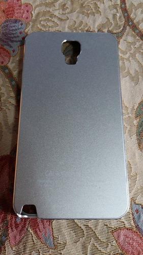 pdeido case aluminio protector samsung neo 3 n7505 silver