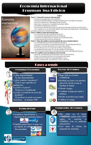 pdf economía internacional krugman 9na edicion
