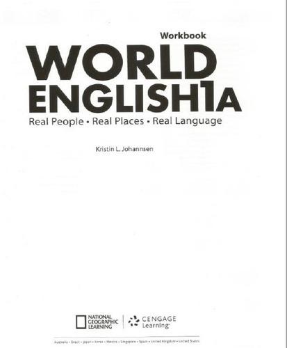 Pdf Libro Cevaz World English 1a Unidad 1,2,3 Y 4