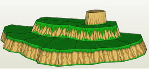 pdf proyecto papercraft 5 muñecos cell dragon ball z vegeta