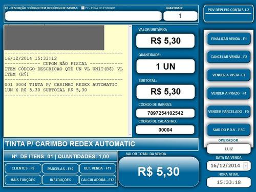 pdv sistema de automação comercial - répleis contas