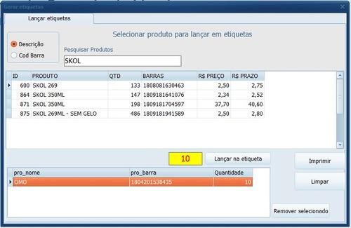 pdv - sistema de vendas com opção de nf (sat)