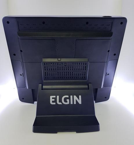 pdv touch screen elgin 17 pol led 4gb ram hdd 500gb!promoção