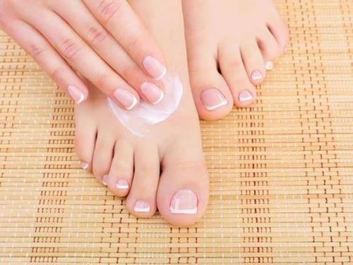 pé feito-loção hidratante para os pés! hidratante