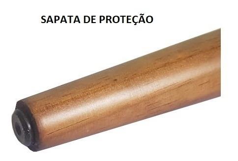 pé palito 30cm madeira sofá puff camabox recamir poltrona mesa banco+ bucha americana para usar reto kit 4 pés