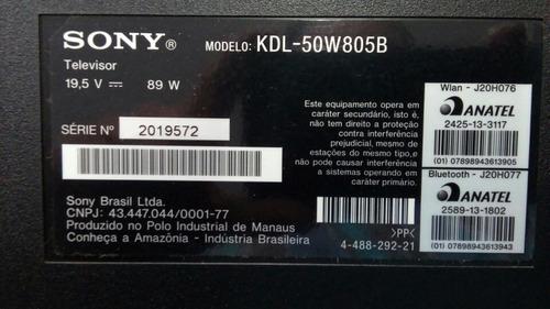pe tv sony modelo kdl-50w805b.