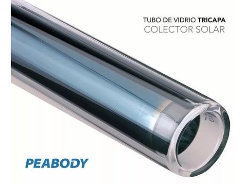 peabody termotanque solar 200 l todo acero anodo + kit electrico + garantia oficial peabody