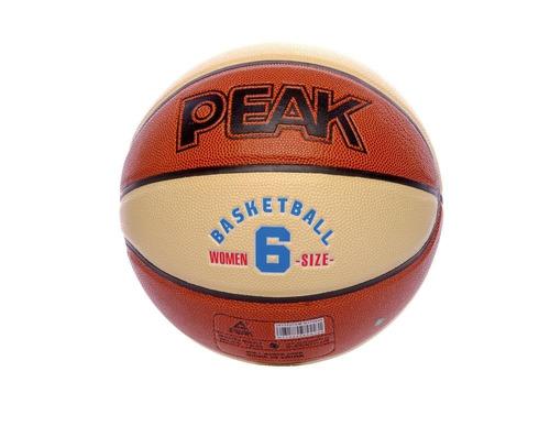 peak balon de basketball de cuero 12 paños indoor/outdoor