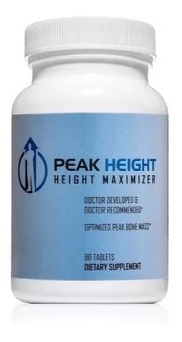 peak height para crecer en estatura 90 tabs pack x3