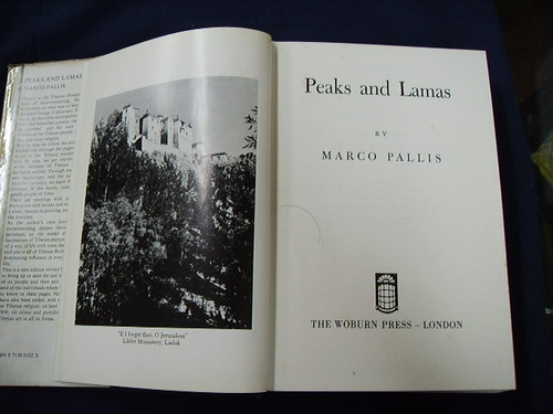 peaks and lamas - marco pallis