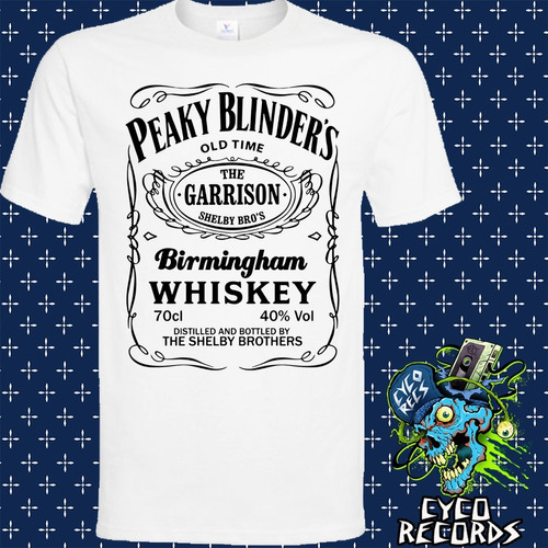 peaky blinders - jack blanca - peliculas de culto - polera-