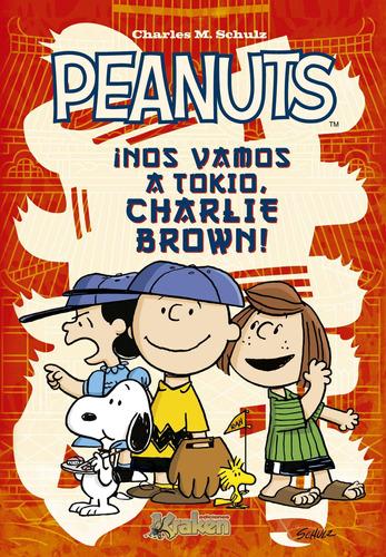 peanuts nos vamos a tokio charlie brown, schulz, kraken