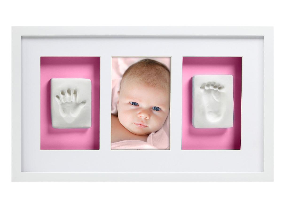 Pearhead Babyprints Deluxe - Marco De Pared, Blanco - $ 1,049.00 en ...