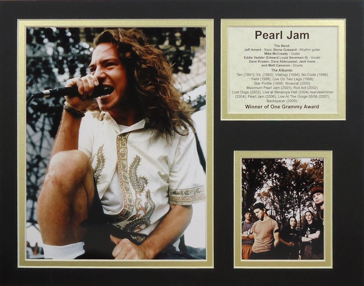 Pearl Jam 11 X 14 Collage De Fotos Enmarcadas Sin Marco ...
