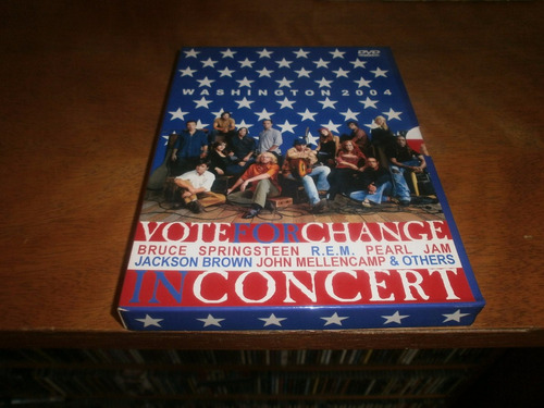 pearl jam bruce springsteen rem vote for change 2 dvd
