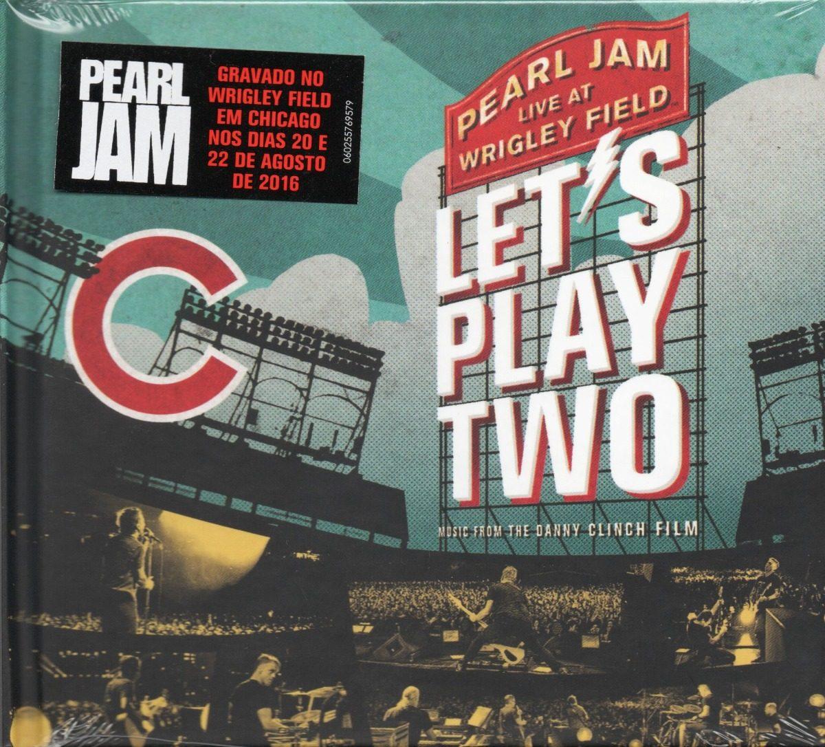 pearl jam cd let's play two novo lacrado frete gratis - r$ 69,90 em