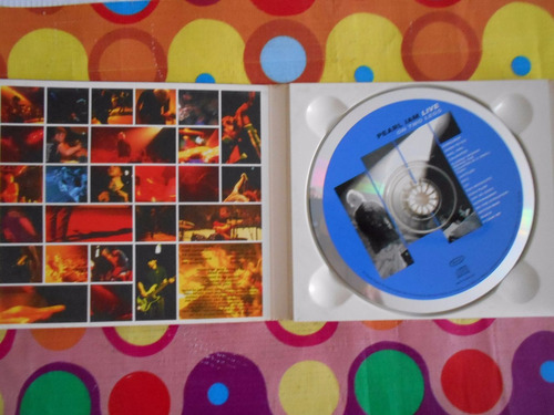 pearl jam live cd on two legs 1998. u.s.a