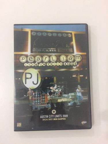 pearl jam live in austin texas en 2009 dvd original zona 4 !