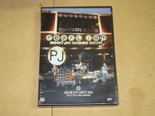 pearl jam live in texas 2009 dvd sellado / kktus