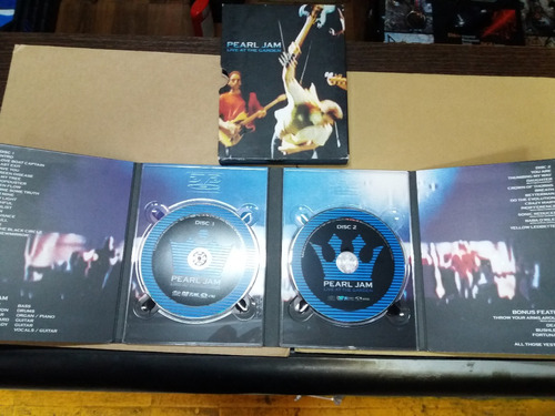 pearl jam new york city 2003 usa doble dvd oferta wf