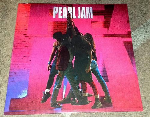 pearl jam - ten (vinilo vinil, vinyl, lp)