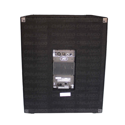 peavey pv 118 subwoofer 18  amplificado 300w rms