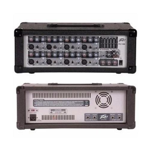 peavey pvi8b mixer potenciado 9 ch multiefectos digital eq 5