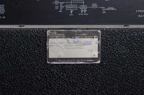 peavey tnt 150 1989 150w 1x15  handmade in usa
