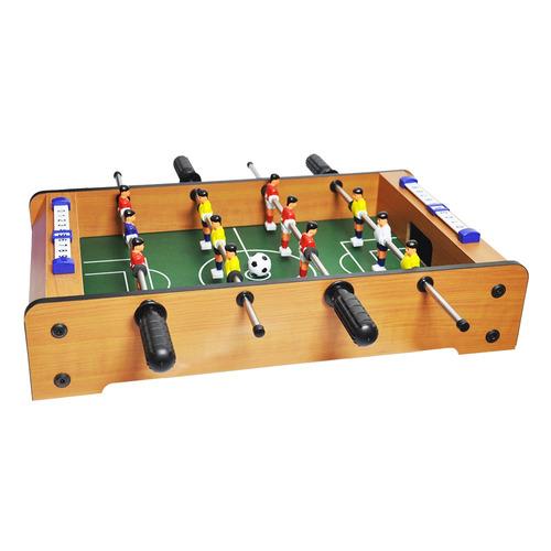 pebolim totó futebol de mesa 50cm x 30cm x 10cm