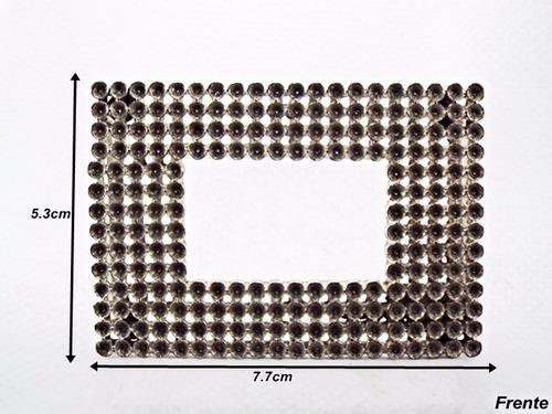 peça de fivela para montagem quadrado