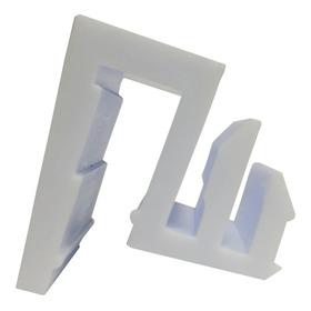 Peça Suporte Guia Inferior Do Box De Vidro Blindex
