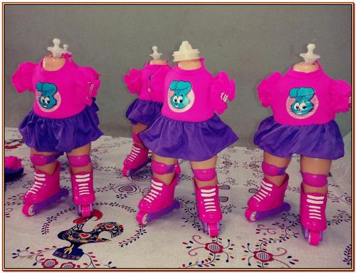 peças, acessórios kit c/ 12 bonecas, incrível! veja tudo!