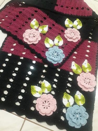 peças artesanais de luxo em crochê