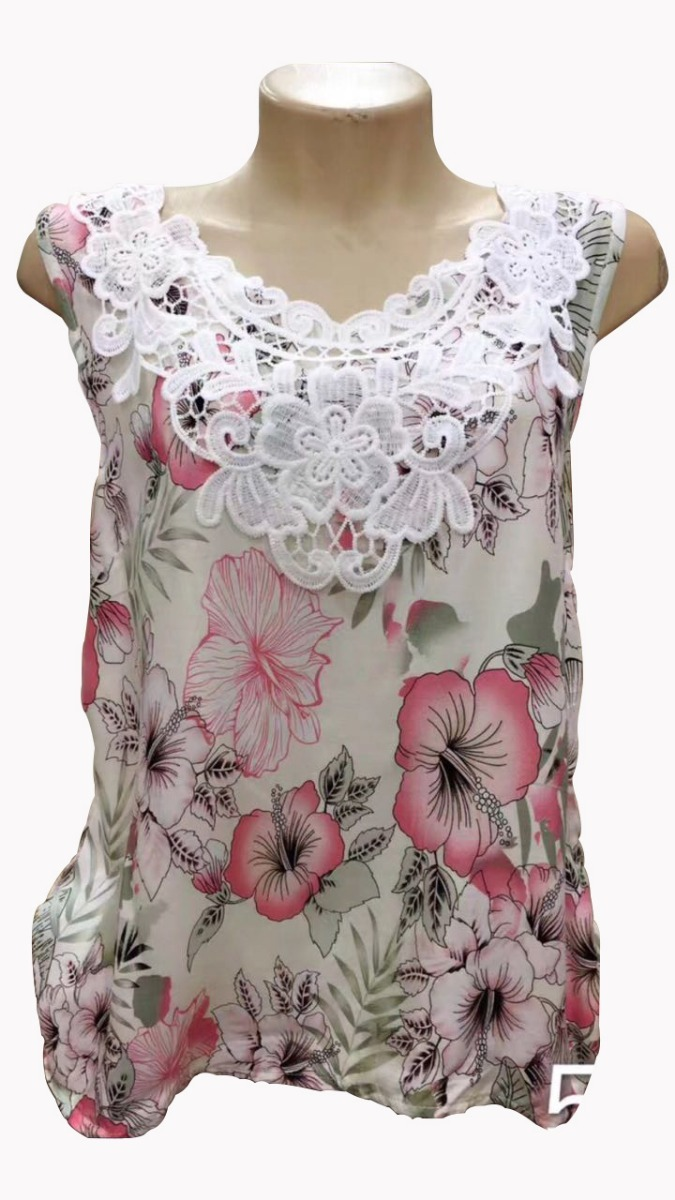 4cca26dec1 peças blusa regata feminina renda viscose camiseta kit c5. Carregando zoom.