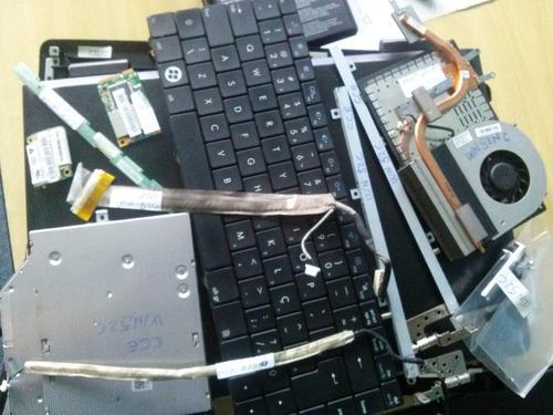 pecas cce wn 52c - teclado, cooler, cabo flat, dobradiças...