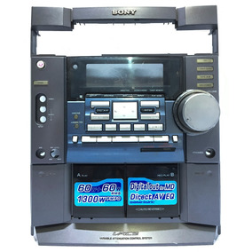 3db0b19bd Mini System Sony Mhc Dx20 - Áudio para Casa no Mercado Livre Brasil