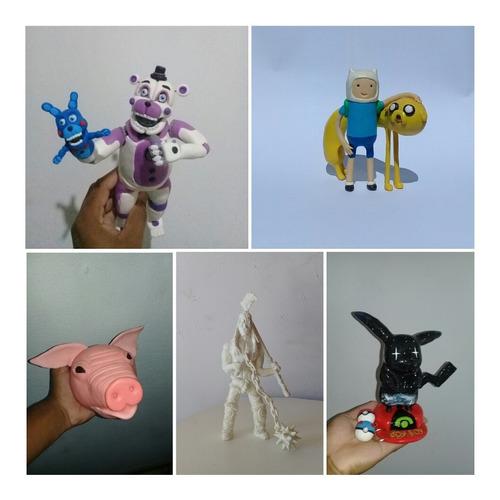 peças, decorações e esculturas em biscuit