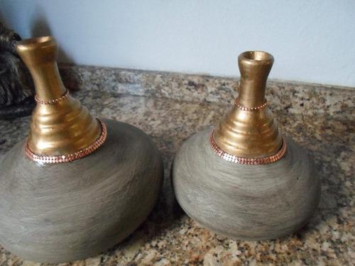 peças decorativas em cerâmica