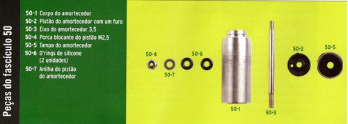 peças do fascículo 50 automodelo viper extreme 1:7 altaya